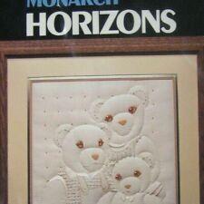 Monarch Horizons Family Portrait Kit Candlewicking Reinardy Teddy Bears CR47