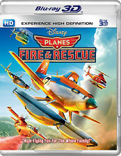 Planes: Fire & Rescue (Blu-ray 3D)  [Planes Fire and Rescue]