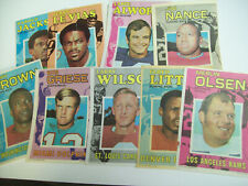 TOPPS FOOTBALL PIN-UPS LOT OF 9