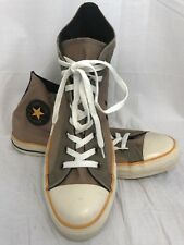 CONVERSE Men's Brown High Top All Star Leather/Canvas Sneakers ~ 11 (mens)