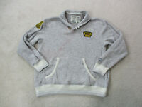 CCM Boston Bruins Sweater Adult Extra Large Gray Yellow NHL Hockey Mens