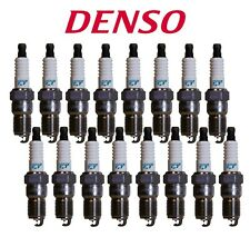 Set of 16 Iridium TT Spark Plugs 4717 Denso ITL16TT For Dodge Chrysler Jeep V8