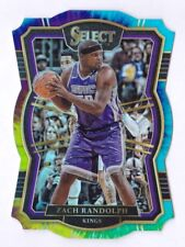 Zach Randolph /25 2017-18 Panini Select Tie Dyed Prizm Premier Level Die-cut
