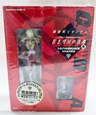 Gundam Char's Deleted Affair Comics #4 Limited Char & Haman Figure JAPAN ANIME