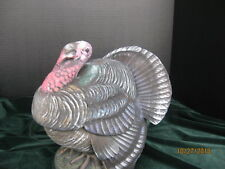 "New 1018 Made iUsa Ceramic Turkey Bowl Glaze in\Inside Acrylic Outside 9 1/2""t"
