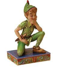 Disney Traditions Peter Pan Childhood Champion Ornament Resin Figurine Gift Box