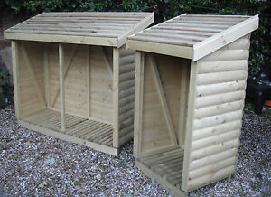Heavy Duty Loglap Wooden Log/Wood Store/Shed TOP QUALITY