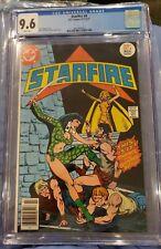 STARFIRE #4 CGC 9.6 White 1977 Colletta good girl/BADGIRL DC Comics white pages