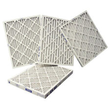 Case of (4) • 13-3/4 x 20-1/2 x 1 • MERV8 Pleated HVAC Air Furnace Filters