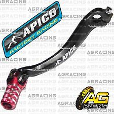 Apico Black Red Gear Pedal Lever Shifter For Honda CRF 250R 2012 Motocross MX