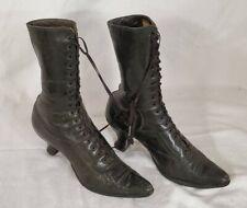 Vintage 1896-1900's Krohn Fechheimer&Co Red Cross Noiseless Shoes Nursing Boots