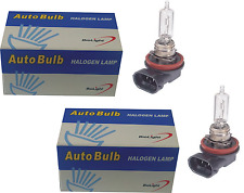 1 PAIR H9 12V 65W Clear Halogen Headlight Globes Bulbs Biolight Halogen Globes