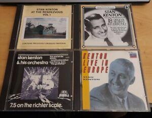 Stan Kenton Job lot: 4 CDs