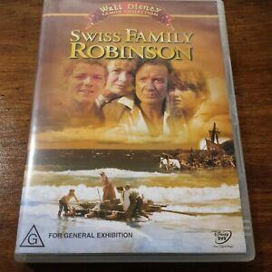 Swiss Family Robinson Disney DVD R4 Like New! FREE POST