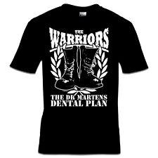 THE WARRIORS  - DENTAL PLAN T-SHIRT S-3XL Skinhead Last Resort Punk Oi! 4Skins