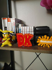 Donkey Kong Video game logo sign 4.5x3.5 (3D printed, man cave, game room, video