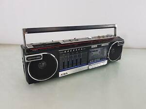 Aiwa CS-R40 AM/FM Vintage BoomBox Stereo Cassette Recorder