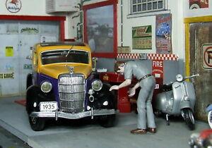One of 3 left 1935 Ford Sedan van farmer's market 1/24 diecast
