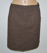 Hugo BOSS Mini Rock Gr. 42 Karo  gefüttert 149,- EDEL Business Tweed D1288
