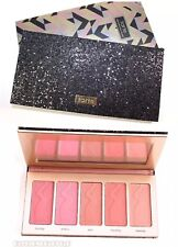 "Tarte BLUSH PALETTE ""Bling It On"" Amazonian Clay 5 Shade HOLIDAY Cheek Set BNIB"
