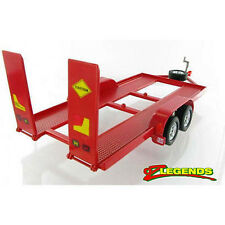 NEW Diecast Tandem Trailer Model 1:24 - Red - for OzLegends OzLegend Models