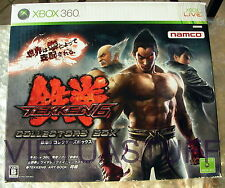 TEKKEN 6 COLLECTOR'S BOX, LIMITED EDITION, HORI, XBOX 360, ONE, JAP, REGION FREE