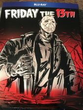Friday the 13th (Blu-ray) Uncut Graphic Novel Slipcover NEW Limited Edition