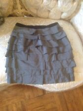 Delia's leapard shirt and forever 21 skirt junior womens size small