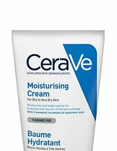 CeraVe Moisturising Cream | 177ml/6oz | Daily Face, Body & Hand Moisturiser for