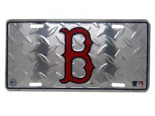 Boston Red Sox Diamond License Plate Wall Sign Tag Metal Sign 6x12 USA SHIP
