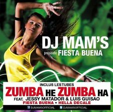 RARE Dj Mam'S Fiesta Buena CD ALBUM 15 Titres (jessy matador) (Zumba He Zumba)