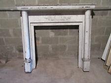 ~ Nice Antique Oak Fireplace Mantel ~ 54 X 49 ~ Architectural Salvage