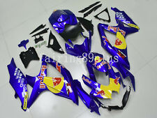 Blue Red Yellow ABS Injection Fairing Kit Fit for GSXR600 GSXR750 2008 2009 2010