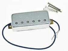Chrome LP Guitar Mini Humbucker Bridge Pickup Ceramic Pickups for Les Paul