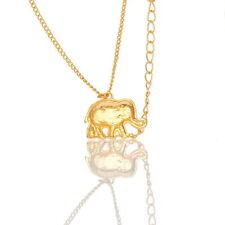 Elefante Collar Cadena De Oro