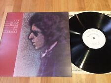 Bob Dylan blood on the tracks lp test pressing