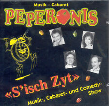 Peperonis CD S isch Zyt Musik Cabaret Comedy Show Best Hit Die Forelle Rock Roll