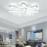 Acrylic LED Ceiling Light Flush Mount Lamp Modern Living Room Bedroom Chandelier