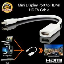 MiniDisplayPort to HDMI Adapter Cable HDTV Moniter Projector For MacBook Air/Pro