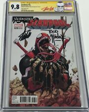Venomized Deadpool #28 Variant Signed by Stan Lee & Todd McFarlane CGC 9.8 SS