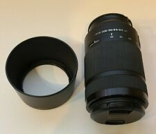Sony SAL55300 DT 55-300mm f/4.5-5.6 SAM Lens - GREAT condition
