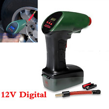 Handheld LCD Digital Air Compressor Auto Tire Inflator Pump Tool bike car ball