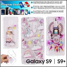 Etui Coque Housse Transparentes Silicone TPU Soft Case Samsung Galaxy S9 / S9+