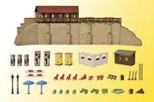 Kibri H0 38916 - Stadtmauer mit Kleingarten in Weil   Bausatz Neuware