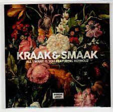 (GS154) Kraak & Smaak, All I Want Is You ft Keyhole - DJ CD