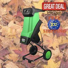 2400W Electric Multifunctional Leaf Branch Shredder Garden Tool Wood Chipper