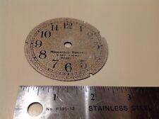 1920's 1930's Minneapolis-Honeywell Model 77 8 Day Dash Clock 7 Jewel  Dial Only