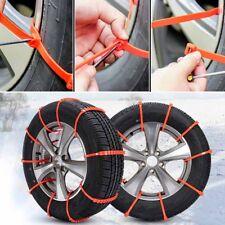 4 X Car Truck Snow Anti-skid Wheel Tire Chains Universal Fit Tyre Width 175-295