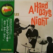 THE BEATLES A HARD DAY'S NIGHT LP Record 12inch Analog EMI Securey Packed Vinyl