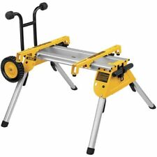 DeWALT DW7440RS Heavy Duty Rolling Job Site Table Saw Stand - Portable DW744